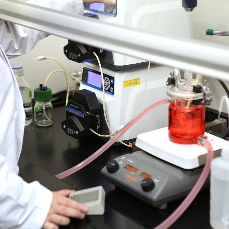 統合型医薬品連続生産システムを目指した製造プロセス開発